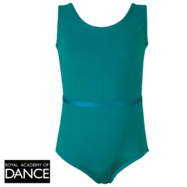 Pale Blue Aimee Sleeveless Leotard in Polycotton Lycra.