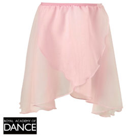 PINK CHILD'S CROSSOVER GEORGETTE SKIRT